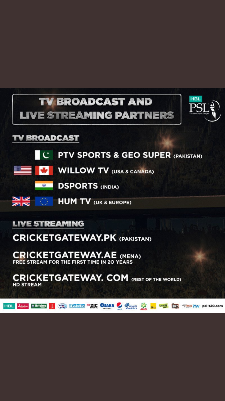PSL 4 Broadcast - Commentary panel announced for PSL